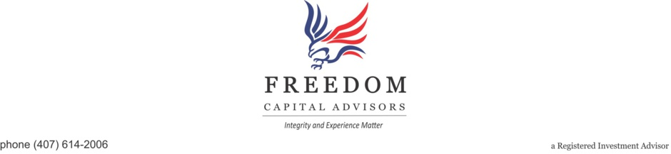 Freedom Capital Advisors - About Us